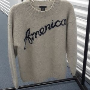 Limited wool sweater sz M